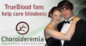 Deborah e seu namorado no banner da campanha